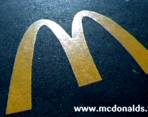 finished commercial for MCDONALDS