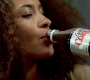 Finished commercial for Diet Coke