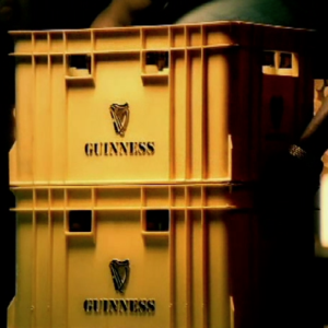 Finished commercials for Guinness