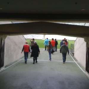 Greenpoint Stadium from theinside