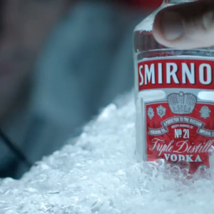 Finished commercial for Smirnoff