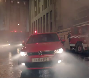 "VW Polo ""Firetruck"" for Ogilvy CT"