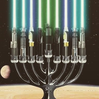 Happy Chanukah and may the force be with you.