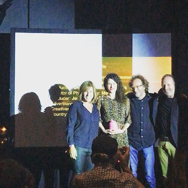 Hard to be cynical when you win a film craft award from our peers. Thanks to @reynald.gresset_l.a_ @la_pac for choosing us to work with you on this wonderful project for Leroy Merlin and thanks to Ninon and Artichoke for being fucking amazing #ciclope #lapac #leroymerlin #artichoke