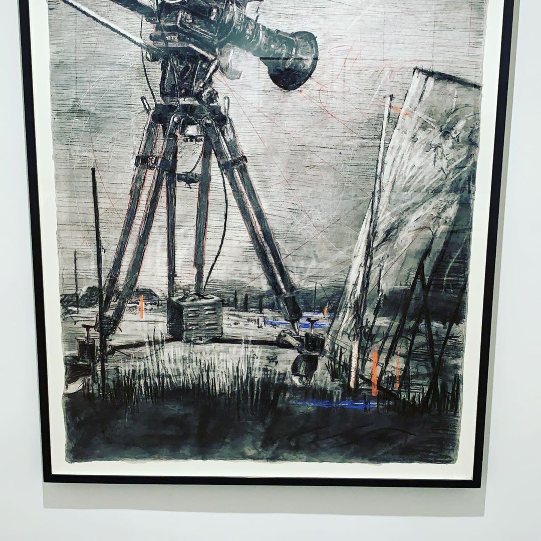 Gatehouse worked on this project with William Kentridge. Come see the most remarkable exhibition of his work at the Zeitz MOCCA #kentridge #zeitz #zeitzmocca