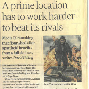 Article in the Financial Times